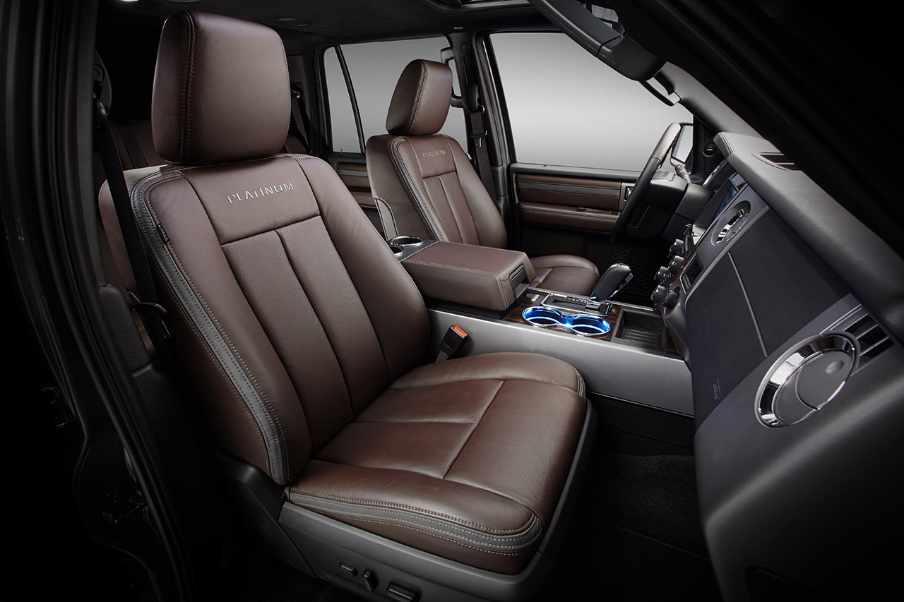 The new 2015 Ford Expedition is available with SYNC® with MyFord