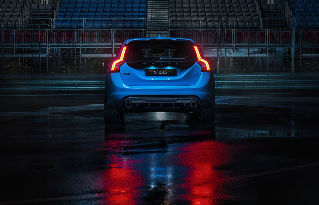 Volvo V60 Polestar Wallpaper