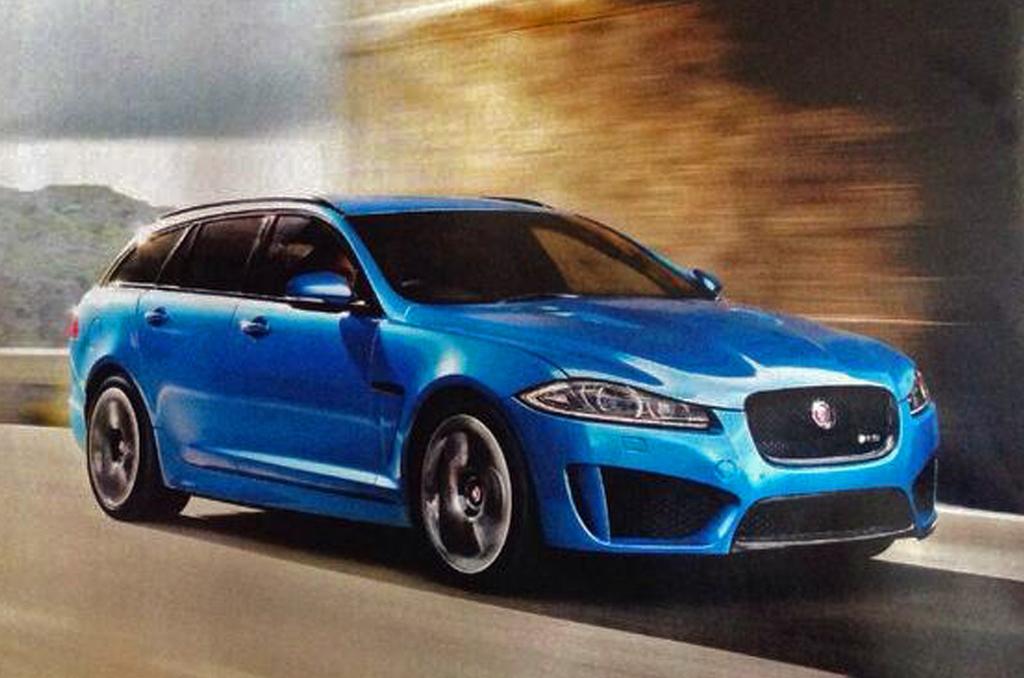 Jaguar XFR-S Sportbrake Leaked Image