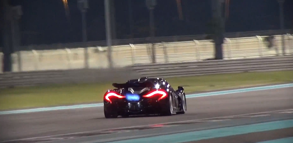 McLaren P1 Exhaust Flames Video