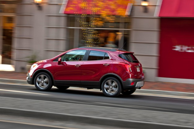 Buick Encore resembles a farm-fresh egg, sells quite well