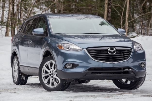 Report: Mazda's lineup is pretty much completely new, except for the CX-9