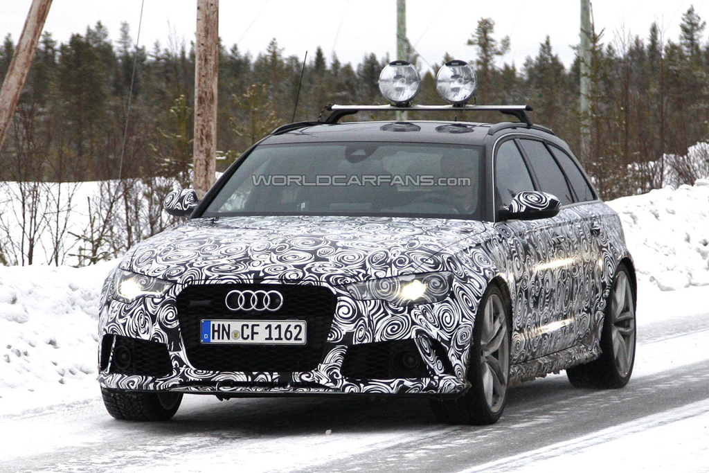 2015 Audi RS6 Avant Spy Photo