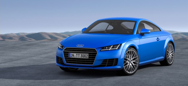2015 Audi TT slims down to 2,711 lbs, comes with a manual for Geneva