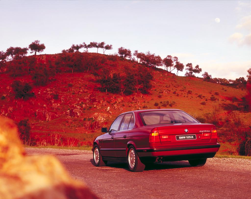 E34 BMW 525iX