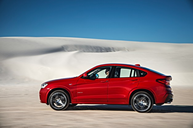 The BMW X4 can hit 60 in 5.2 seconds, comes to the US with two engines