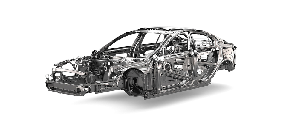 Jaguar XE Sedan Chassis