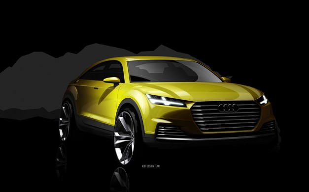 Report: Audi TT offroad concept gets the greenlight