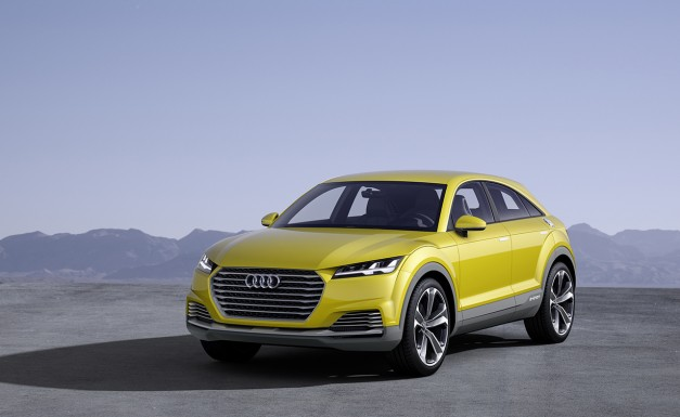 Report: New Audi TT variant to be crossover