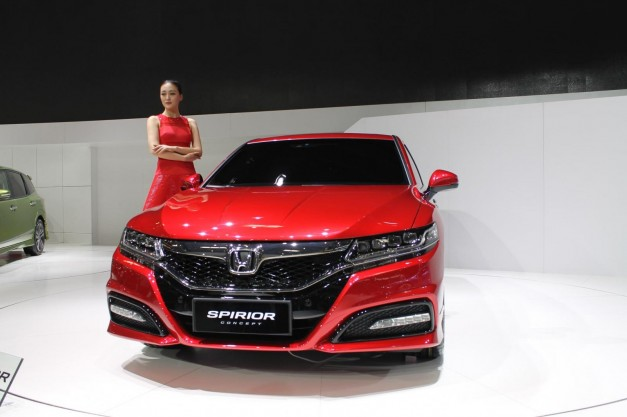2014 Beijing: Honda showcases the Spirior Concept in China, hints at next-gen Acura TSX