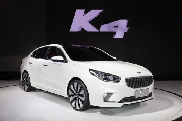 2014 Beijing: Kia introduces the K4 midsize sedan concept in China