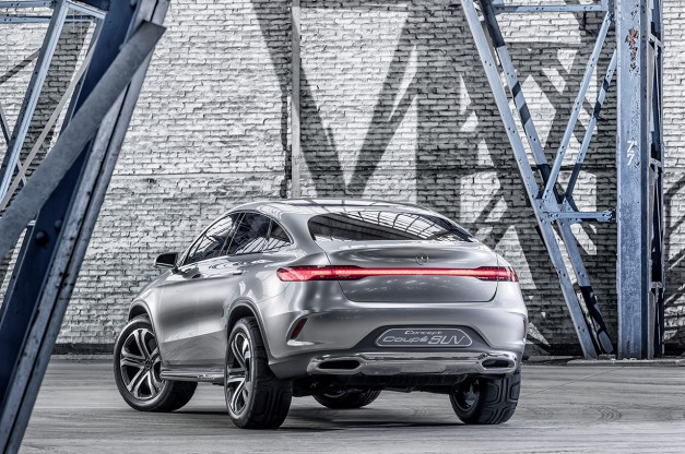 Report: Mercedes-Benz to possibly rival BMW X4 following Concept Coupe SUV