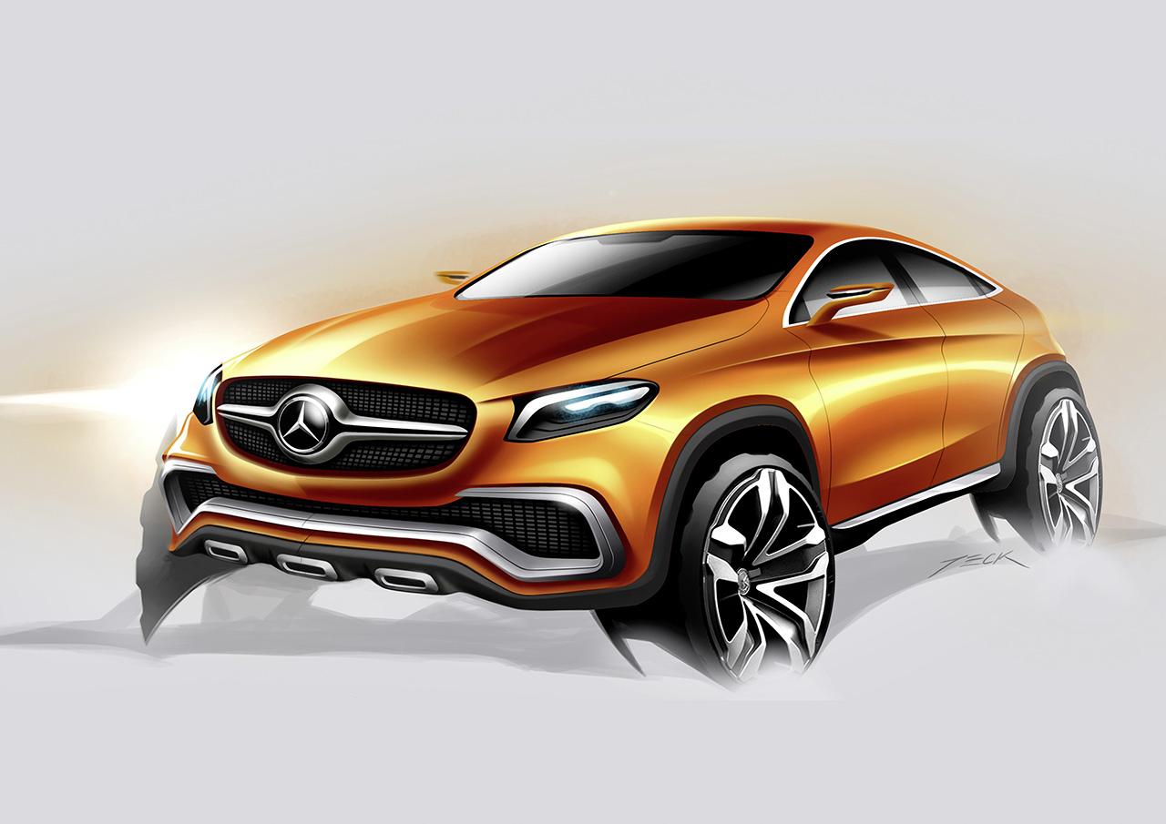 Mercedes benz concept coup suv 2014 egmcartech for Mercedes benz 2014 suv