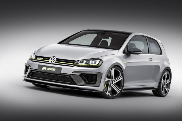 Report: Volkswagen's Golf R400 Concept gets the green light to our surprise