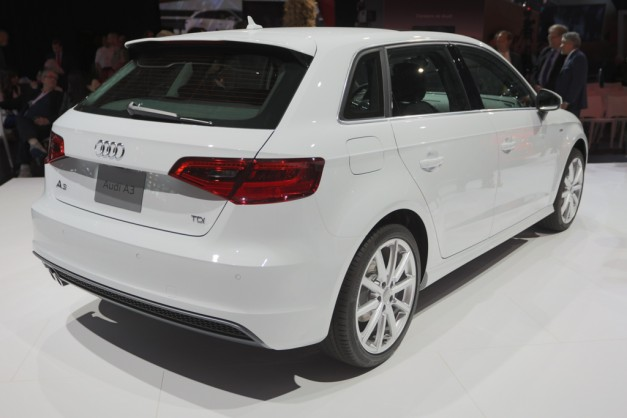 2014 NYIAS: We sniff the 2015 Audi A3 TDI Sportback