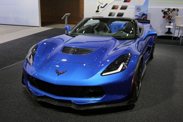 2014 NYIAS: 2015 Chevrolet Corvette Z06 Convertible stiffens up over the old model