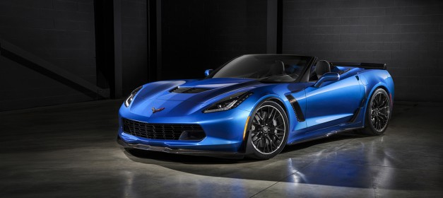 Chevrolet reveals the Corvette Z06 convertible, heads to New York next week