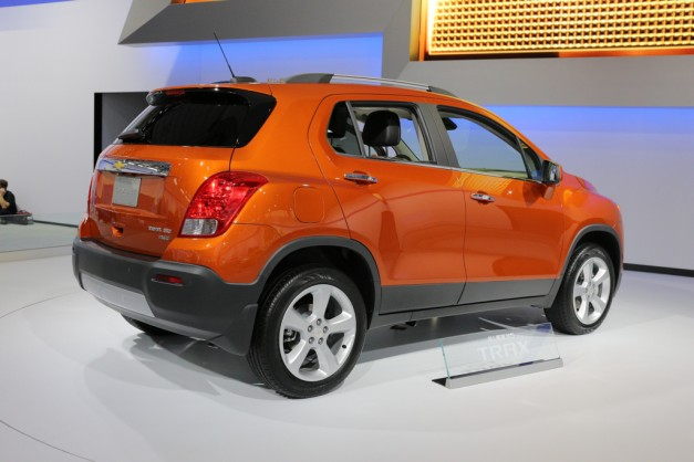2014 NYIAS: GM plops the Mexican-market 2015 Chevy Trax into the US and China