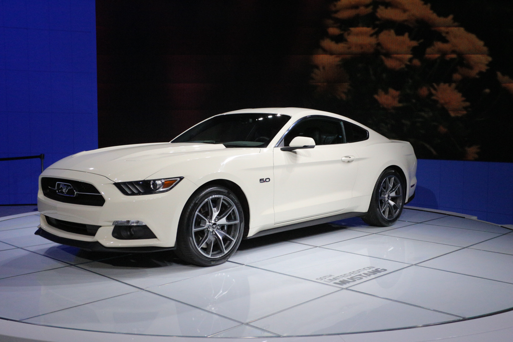 2015 Ford Mustang 50 Year Edition