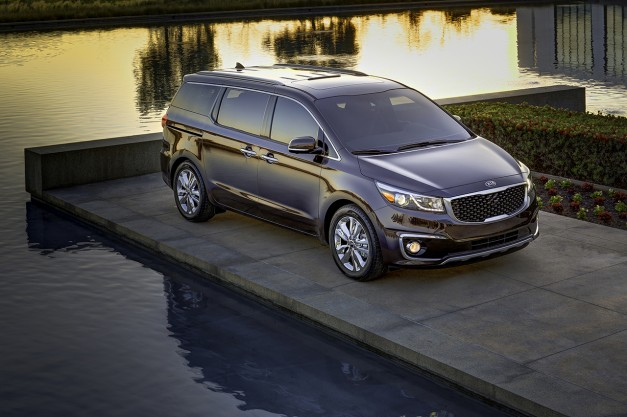 The 2015 Kia Sedona is the last of the line to get revamped, heads to New York
