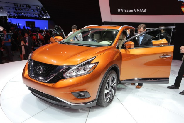 2014 NYIAS: 2015 Nissan Murano follows in its forefathers' footsteps