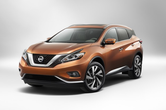 The 2015 Nissan Murano is here on the Interwebs, debuts in New York this week