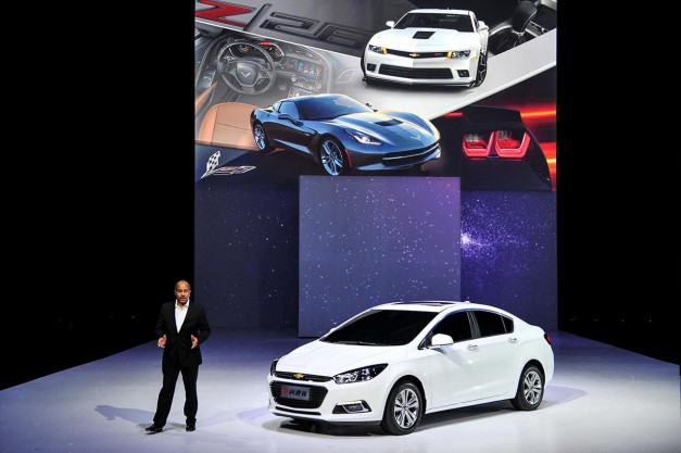 2014 Beijing: Chevrolet reveals all-new redesigned global Cruze in China
