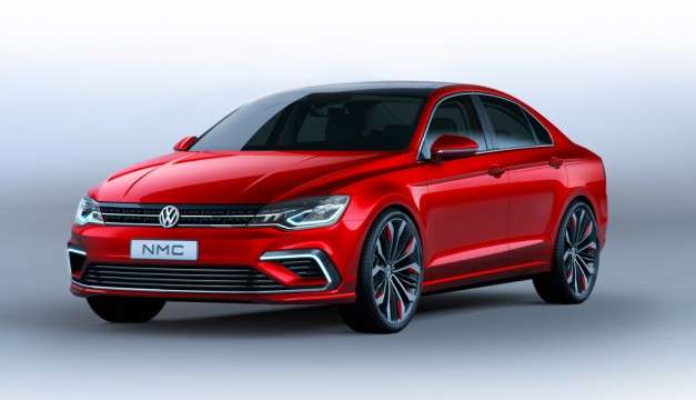 Report: Production Volkswagen New Midsize Coupe Concept on the way