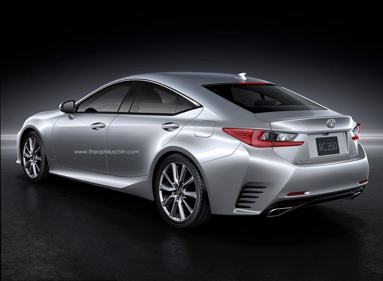 2014 Lexus RC FourDoor Coupe Rendering Theo Chin 2  egmCarTech