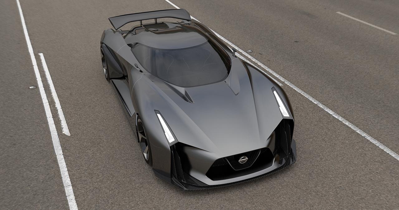 2014 Nissan 2020 Concept Vision Gran Turismo
