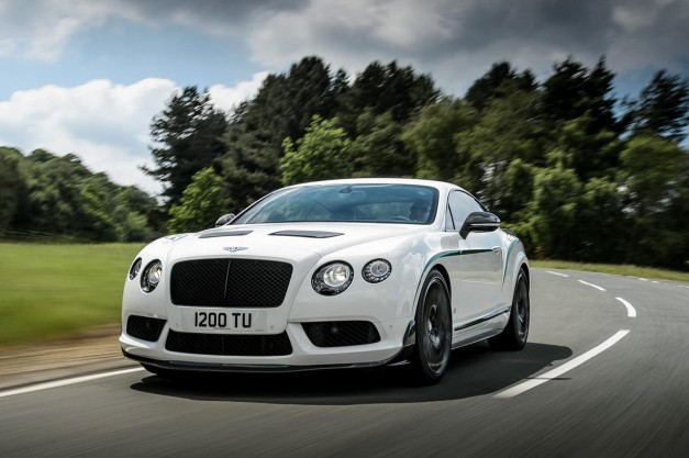 Report: Bentley to reveal a new hard-edged rear-wheel drive sports coupe next year