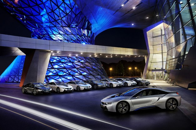 2014 LA Auto Show: The BMW i8 gets named to be AutoBlog's 2014 Technology of the Year