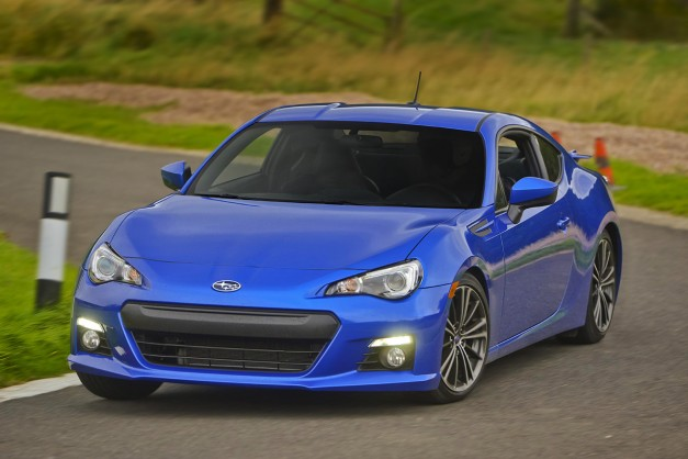 The Subaru BRZ gets slightly updated for 2016