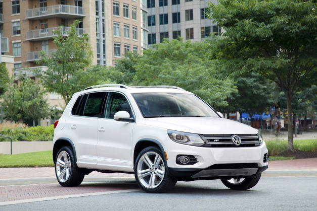 Report: More soccermom-ism from Volkswagen, new Tiguan to surface at Frankfurt