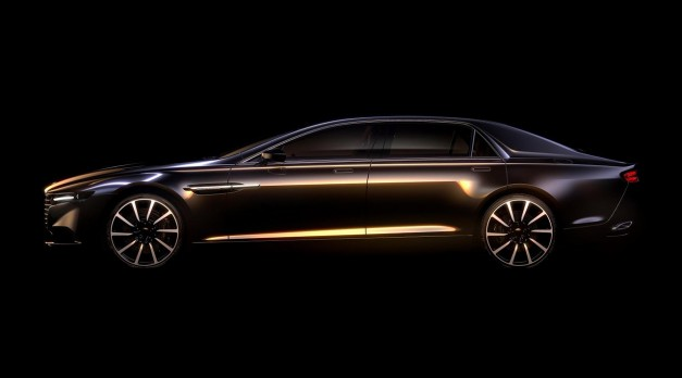 Aston Martin teases new Lagonda sedan, but nobody except Middle East will get it
