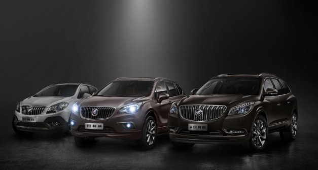 Buick reveals 2015 Envision midsize crossover for China