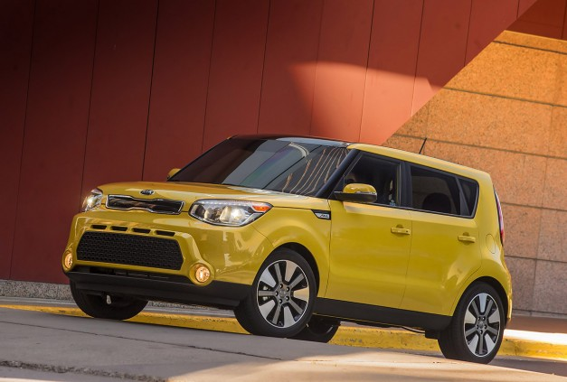 Kia updates the 2015 Soul with some new options