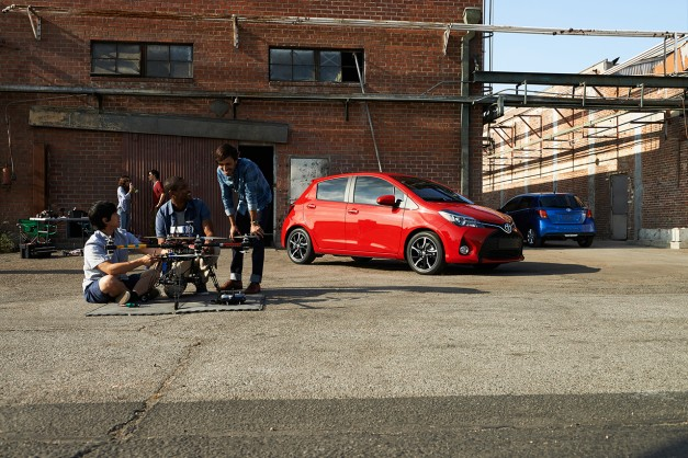 Toyota reveals updated 2015 Yaris, receives a more dramatic design