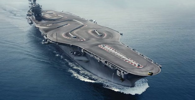 Video What Happens When A Bmw M4 And An Aircraft Carrier