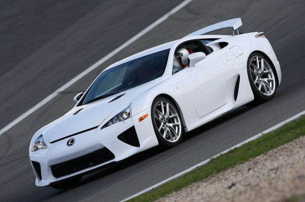 Report: A Lexus LFA successor with 800hp from Toyota and BMW is on the drawing board
