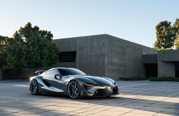 The Toyota FT-1 Concept revealed again with new paint scheme in Monterey
