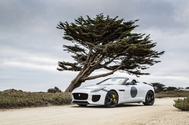 The Jaguar F-Type Project 7 debuts stateside at Pebble Beach, priced at $165k