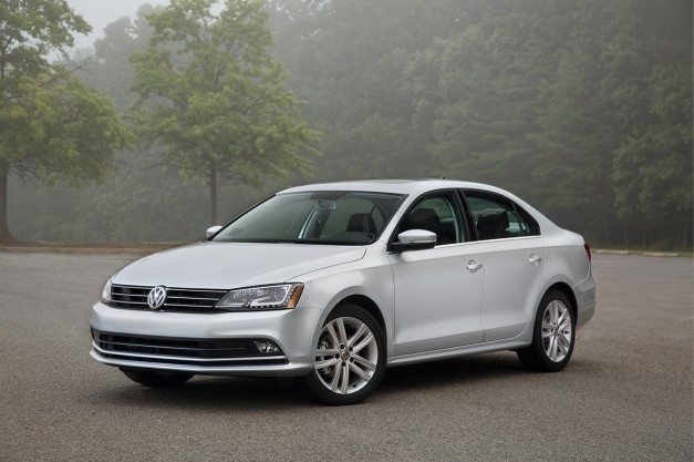 The 2015 Volkswagen Jetta costs $16,215 for its price of entry