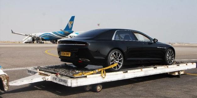 First photos of production Aston Martin Lagonda surface, thanks to Oman Air