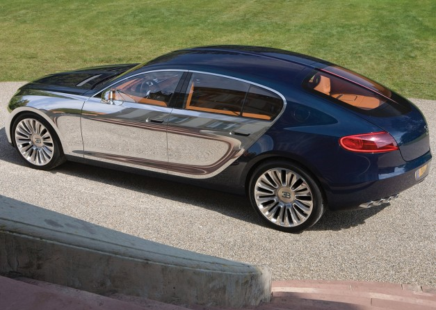 Report: The rumor strikes back – a Bugatti sedan could actually happen