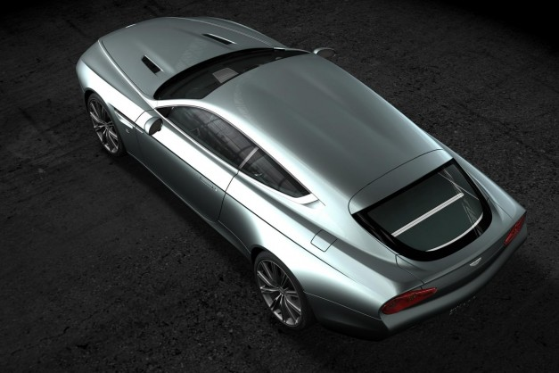 Zagato and Aston Martin team up once again to build a one-off shooting brake