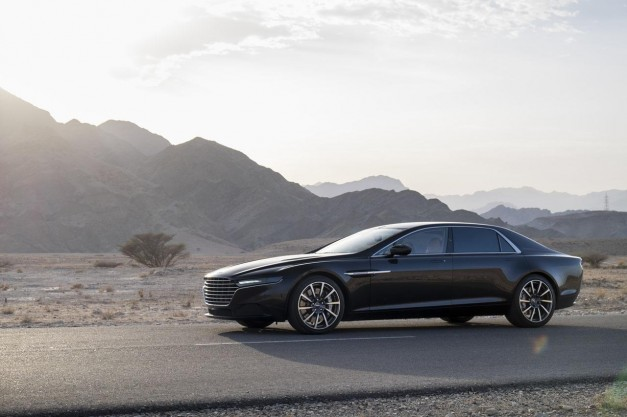 Official photos of Aston Martin's super exclusive Lagonda surface