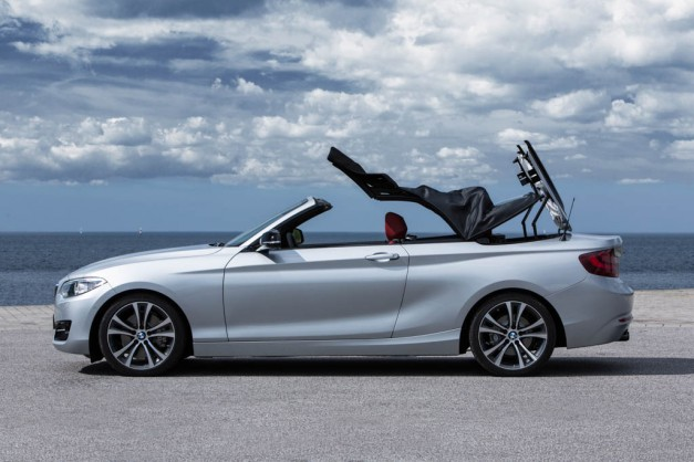 2015 BMW 2 Series Convertible unveiled – 4 engines available