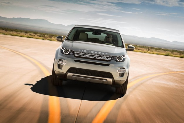 Land Rover Discovery Sport: Resembles the Ford Explorer less, may offer a stick