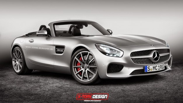 Photo Rendering: This is what the Mercedes-Benz AMG GT could look like without a head